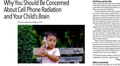 Негативний вплив елекромагнітного випромінювання від мобільного телефону