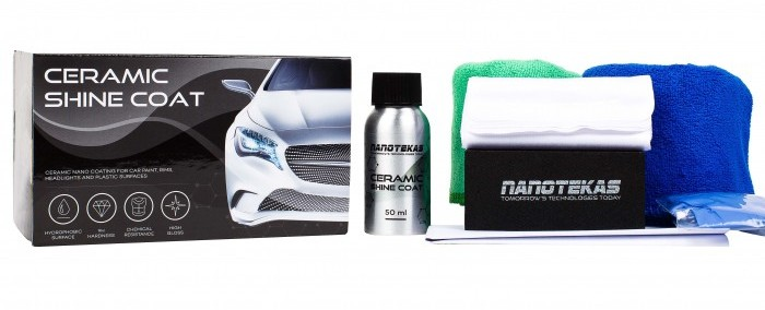 ceramic shine coat NanoTekas